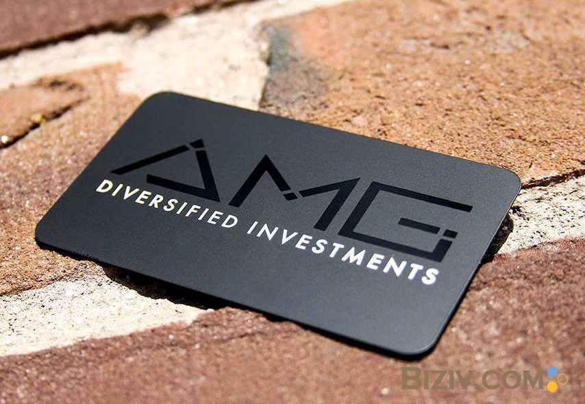 Custom black metal business cards credit vip membership-Biziv ...