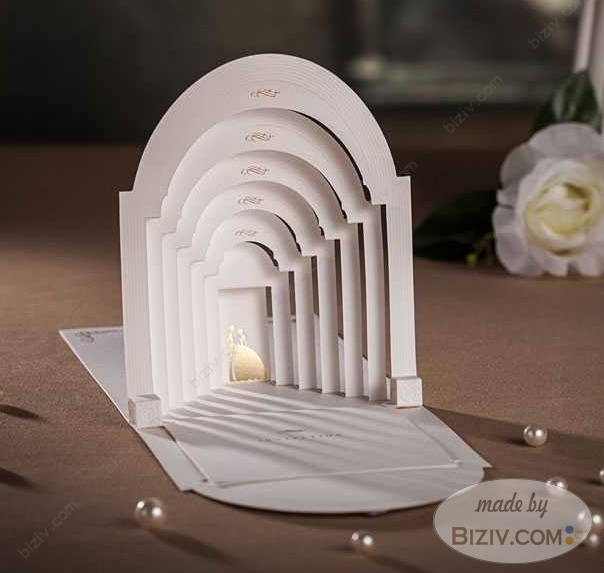 3d style creative wedding invitations biziv promotional products