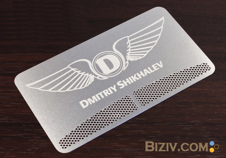 Metal Business Cards Biziv promotional products