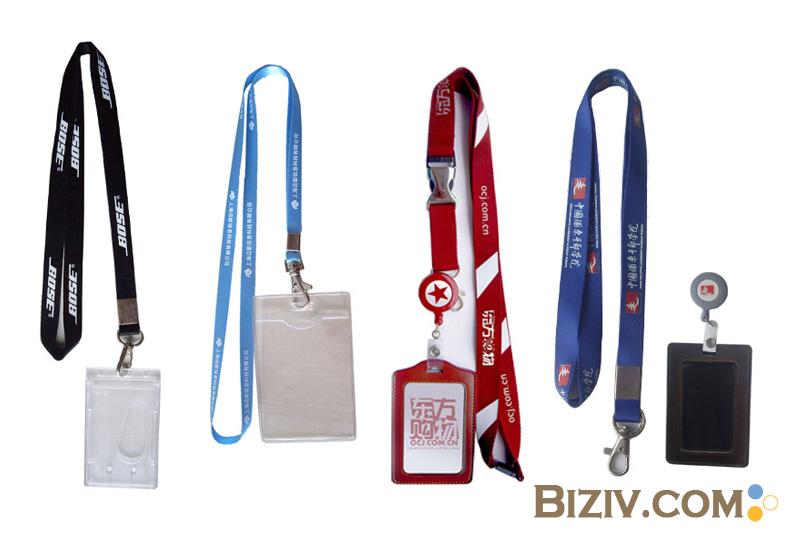 custom lanyards personalized printed id badge neck lanyard biziv