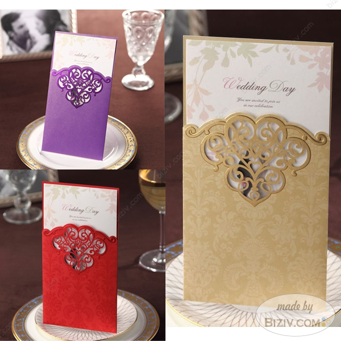 Laser cut wedding invitations biziv promotional products laser cut wedding invitations filmwisefo