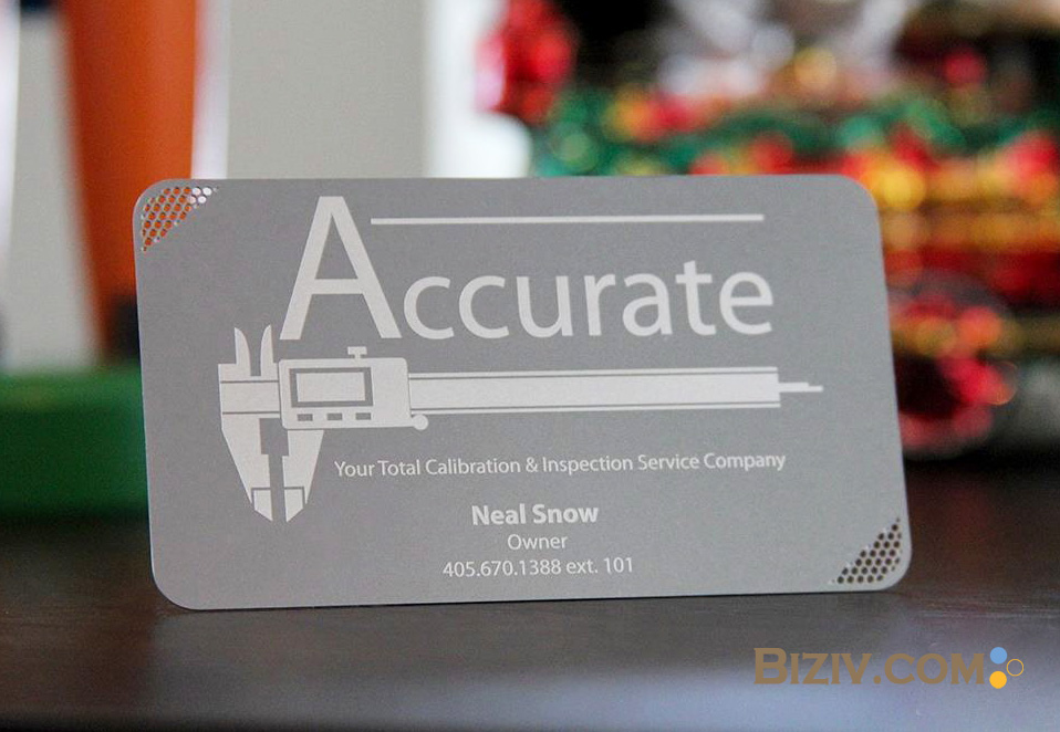 Metal Business Cards-Biziv promotional products