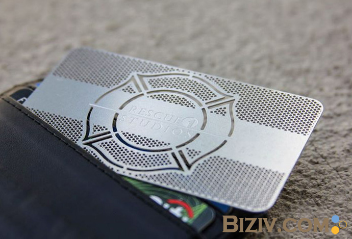 Metal business cards biziv promotional products colourmoves