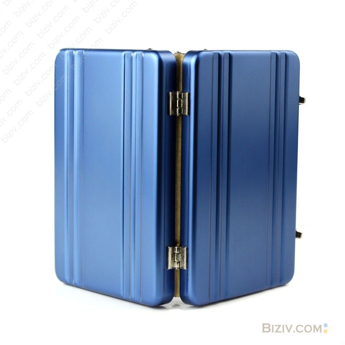 Suitcase metal business cards case biziv promotional products metal business card holde 590 colourmoves