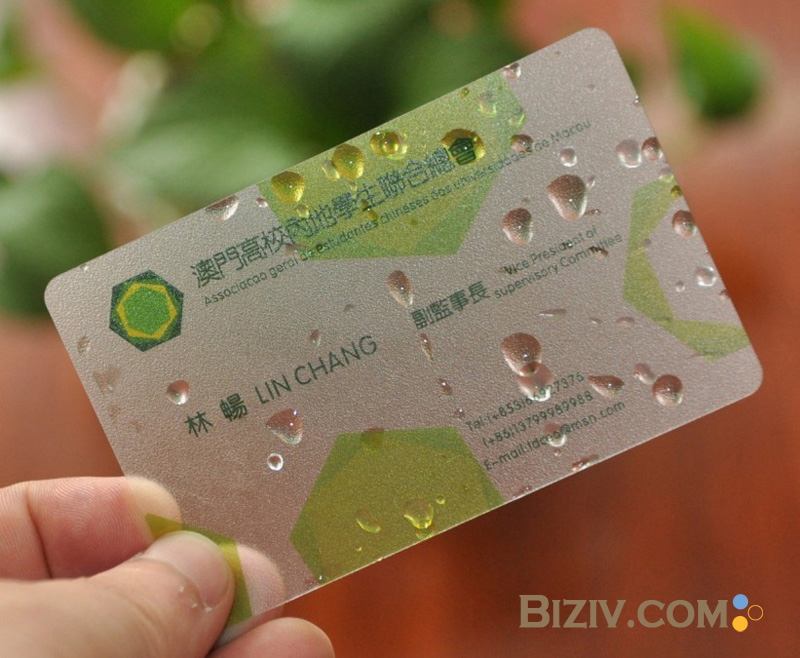 Plastic Business Cards-Biziv promotional products