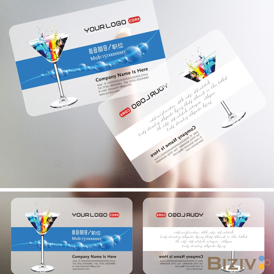 Benefits of Transparent Business Cards-Biziv promotional products