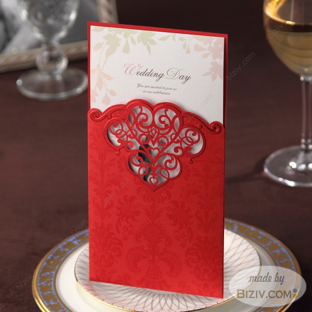 laser cut wedding invitationsBiziv promotional products